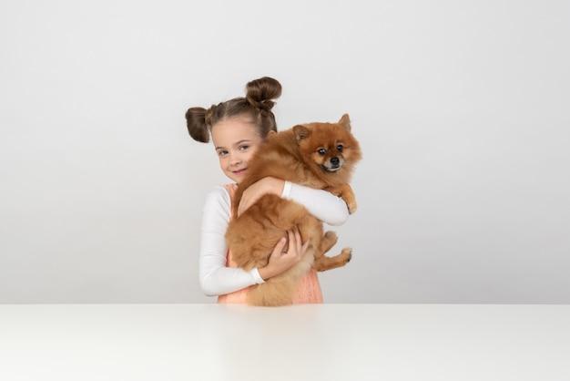 Ich liebe dich so sehr, mein hundefreund Premium Fotos