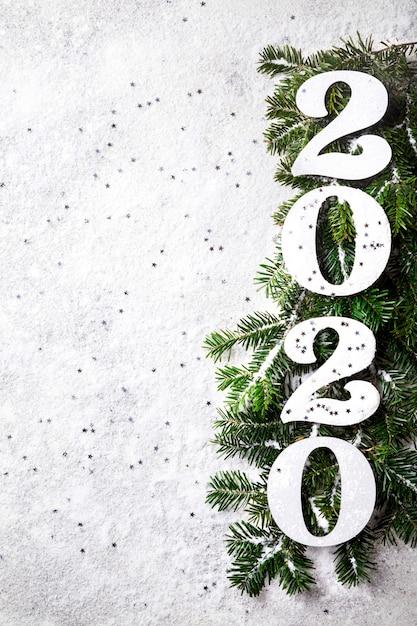 Idee frohes neues jahr 2020 Premium Fotos