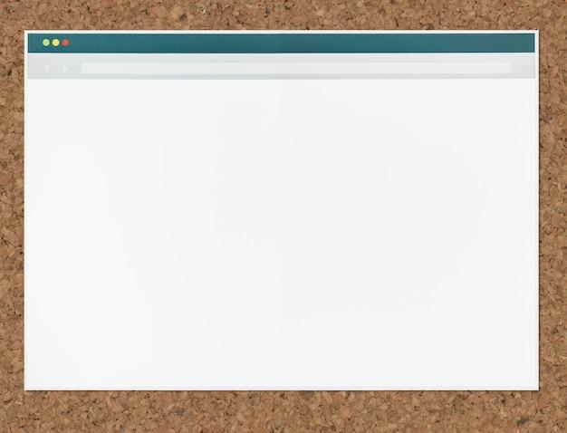 Ikone eines webbrowsers Kostenlose Fotos