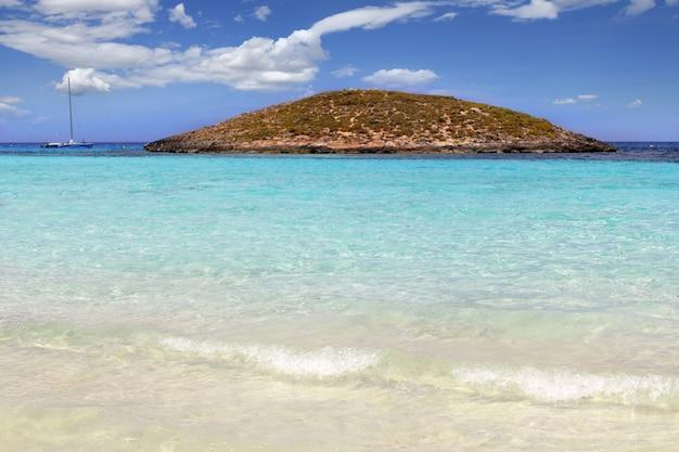 Illetes strandinseln formentera balearische insel Premium Fotos