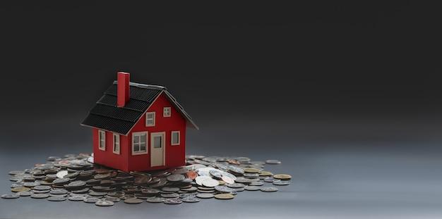 Immobilien- und immobilieninvestitionskonzept Premium Fotos