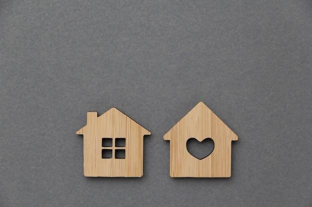Immobilieninvestitionskonzept. miniaturhaus Premium Fotos