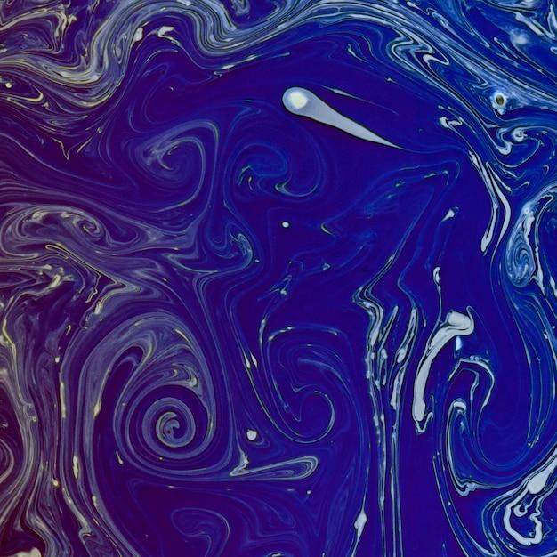 Indigo stellte aquarellflußbeschaffenheit wieder her Kostenlose Fotos
