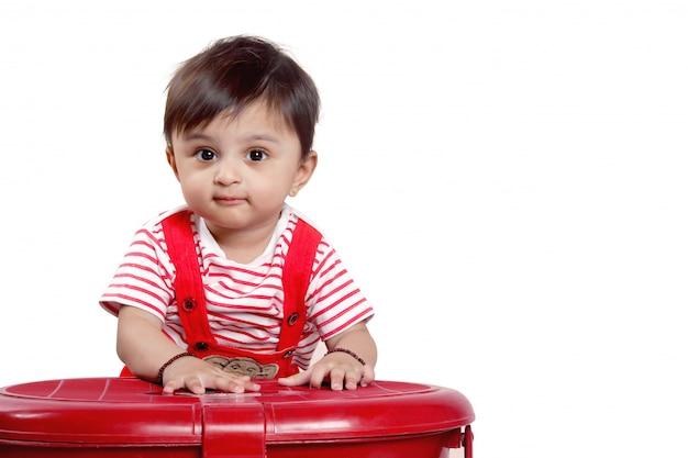 Indisches baby Premium Fotos