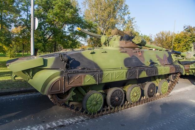 Infanterie-kampffahrzeug Premium Fotos