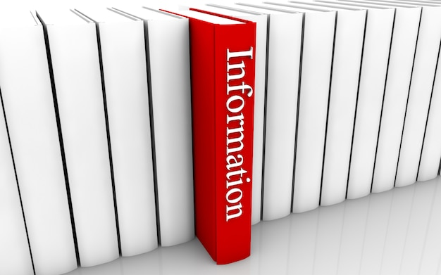 Informationsbuch Premium Fotos