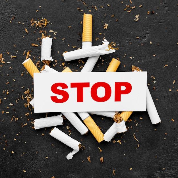 Initiative zur raucherentwöhnung Premium Fotos