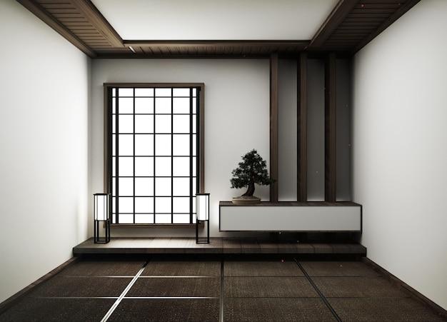 Loft- und vintage-interieur des wohnzimmers und des ...