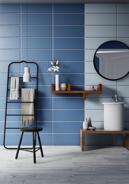 Innenbadezimmer Premium Fotos