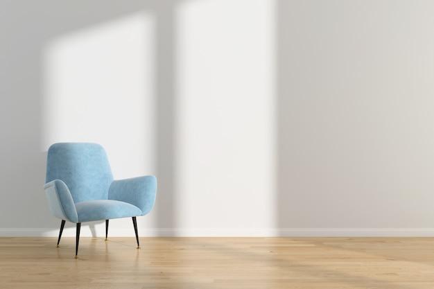 Innenwohnzimmer sommer skandinavischen wand holzfußboden hintergrund Premium Fotos