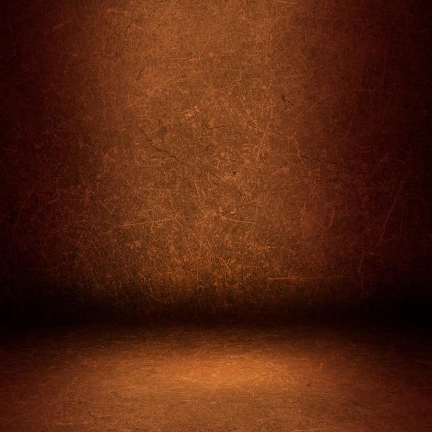 Interior hintergrund mit einem grunge wand und boden Kostenlose Fotos