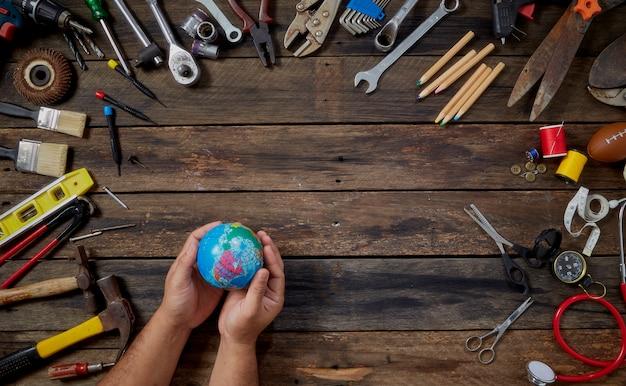 Internationaler tag der arbeit und arbeit Premium Fotos