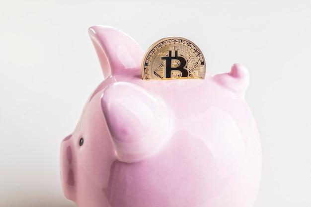 Investieren sie in bitcoin Premium Fotos
