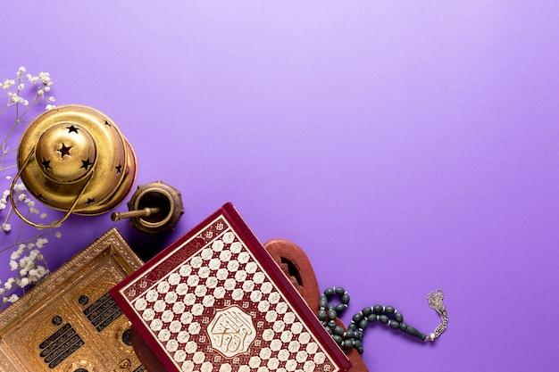 Islamische anordnung des neuen jahres mit exemplarplatz Kostenlose Fotos