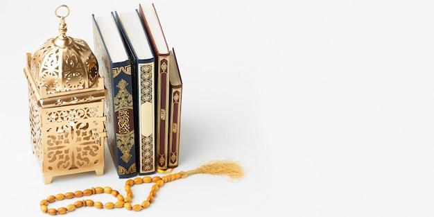 Islamisches neujahrskonzept mit kopierraum Premium Fotos