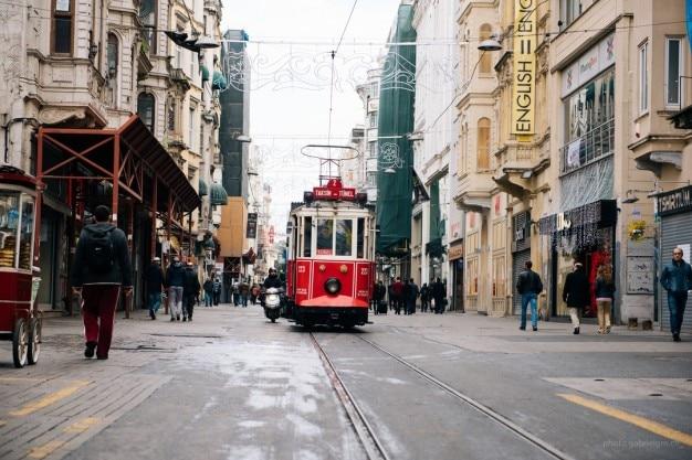 Istanbul straßenbahn Kostenlose Fotos
