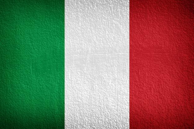 Italienische flagge Premium Fotos