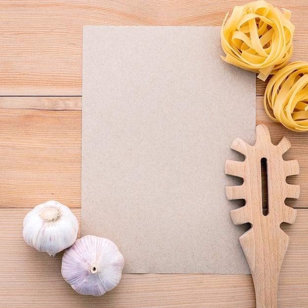 Italienische küchenzutaten Premium Fotos