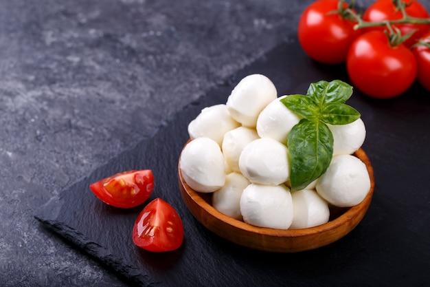 Italienischer mozzarellakäse Premium Fotos