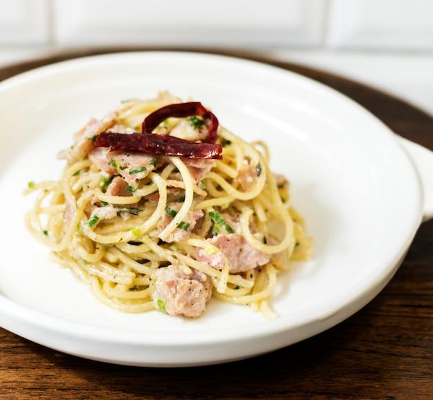 Italienisches essen spaghetti Kostenlose Fotos