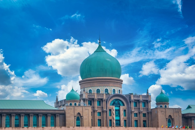 Jabatan perdana menteri tagsüber in putrajaya, malaysia Premium Fotos