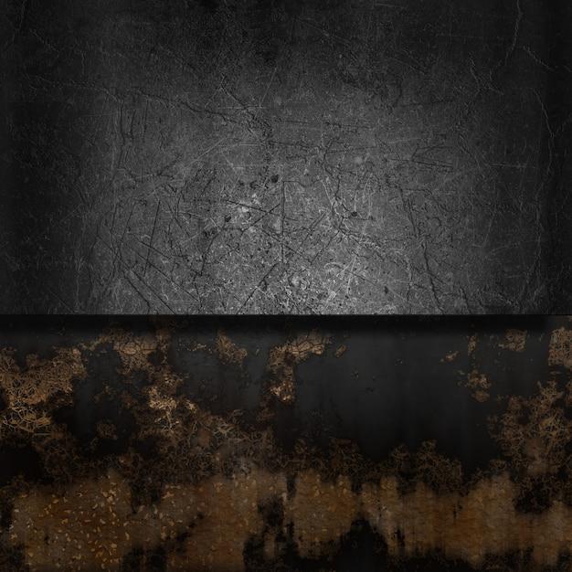 Jahrgang hintergrund mit grunge metall und rost Kostenlose Fotos