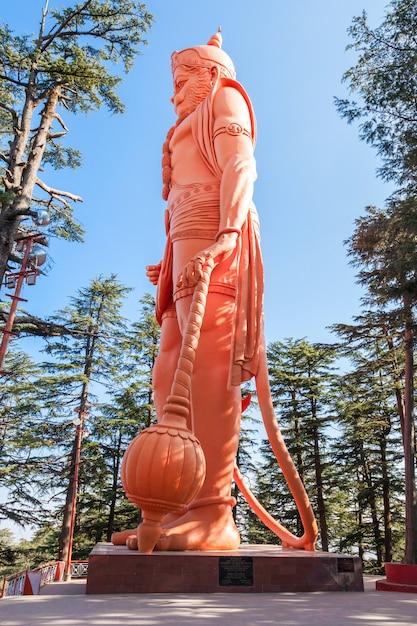 Jakhoo-tempel, shimla Premium Fotos