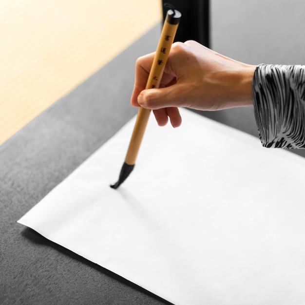 Japanischer schriftzug gemalt Kostenlose Fotos