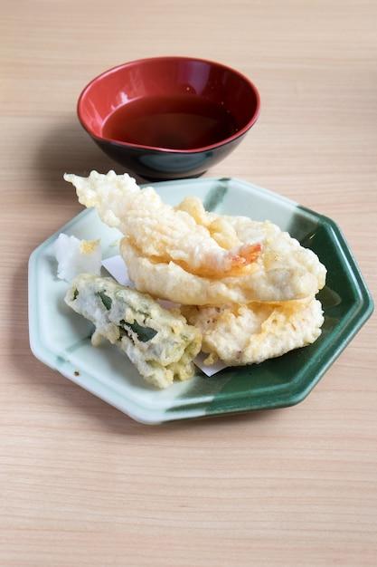 Japanischer stil tempura Premium Fotos