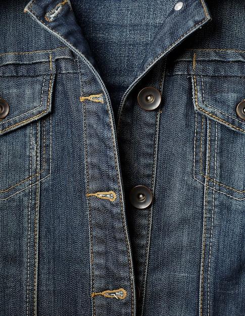 Jeansjacke und knöpfe nähen Kostenlose Fotos