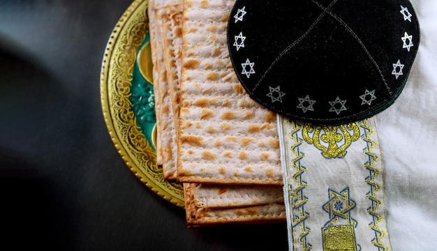 Jüdischer feiertag des jüdischen pesah feierkonzeptes passahfest Premium Fotos
