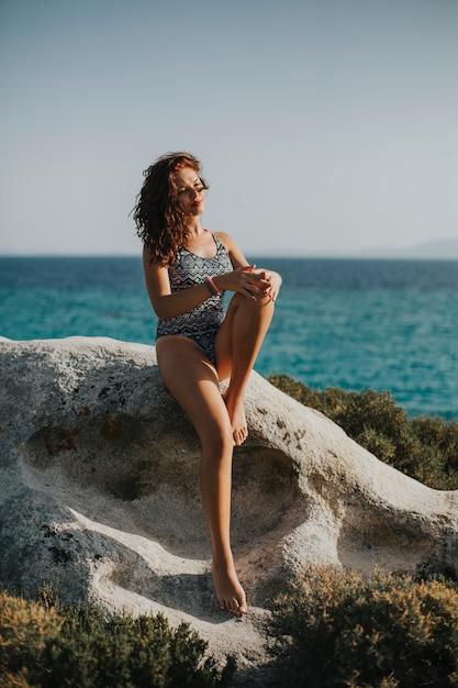 Junge Frau Bikini