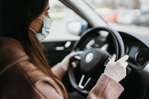 Maske Auto Fahren