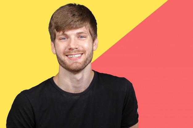 Junger mann. porträt Premium Fotos