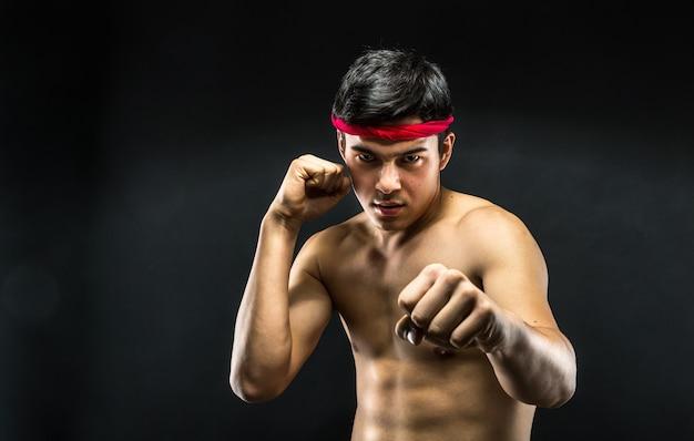 Junger wrestler Premium Fotos