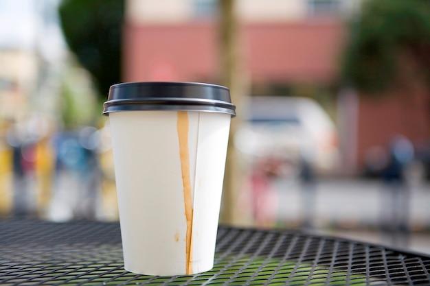 Kaffee zum mitnehmen Premium Fotos