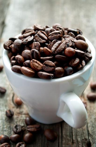 Kaffeebohnen Premium Fotos