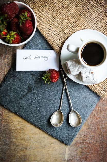 Kaffeezeit Premium Fotos