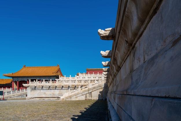 Kaiserpalast von peking, china Premium Fotos