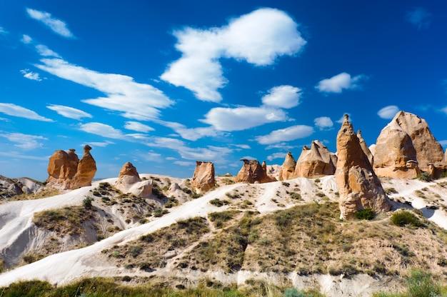 Kamelfelsen, cappadocia, die türkei Premium Fotos