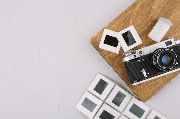 Kamera an bord mit negativen Kostenlose Fotos