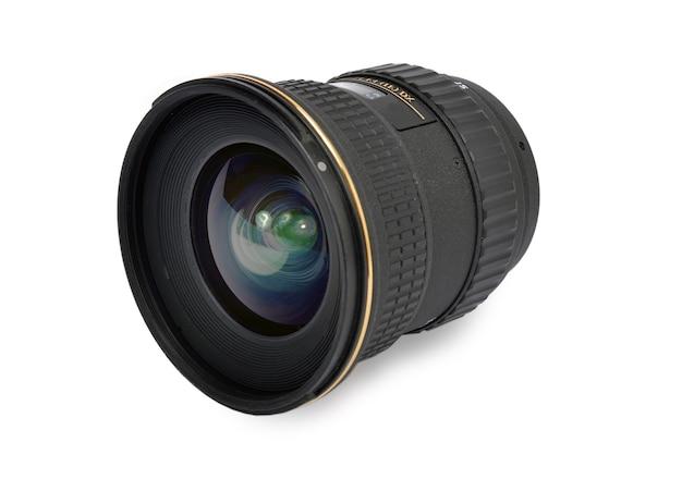 Kameraobjektiv isoliert Premium Fotos