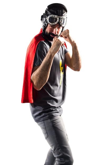 Kampf wütende maske bereit superheld Kostenlose Fotos