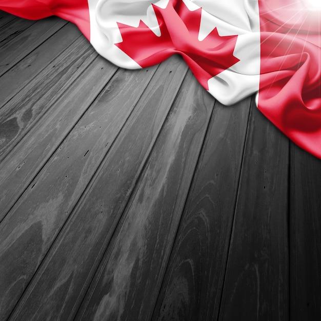 Kanada-flagge hintergrund Kostenlose Fotos