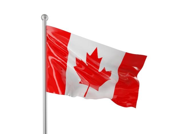 Kanadische flagge Premium Fotos