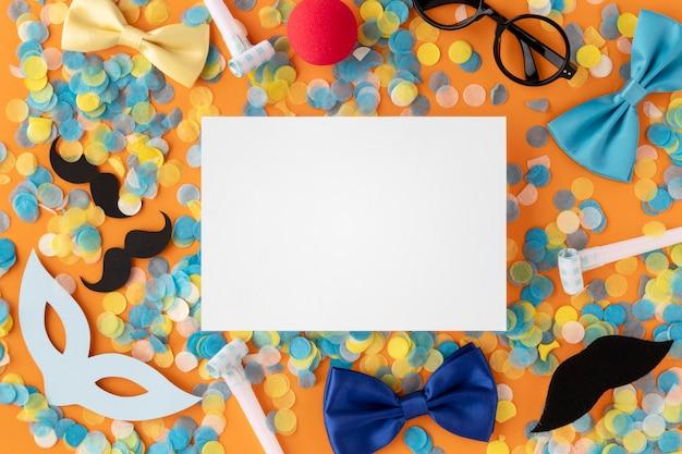 Karneval niedliche maske kopie raumkarte Kostenlose Fotos