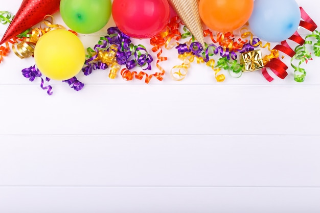 Karnevals- oder geburtstagsfeierartikel Premium Fotos