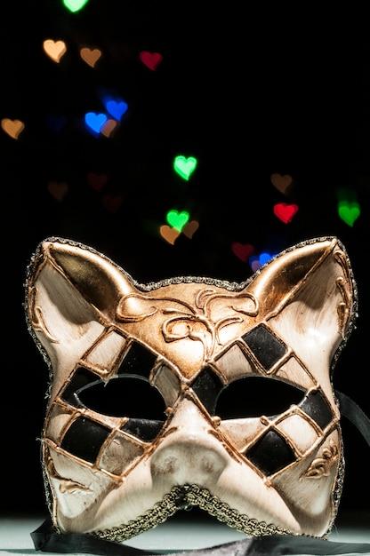 Karnevalsmaske der katze Premium Fotos