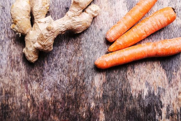 Karotten und ingwerwurzel Kostenlose Fotos