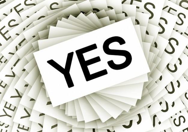 Karten positives Engagement Zustimmung Spirale ja viele | Download ...